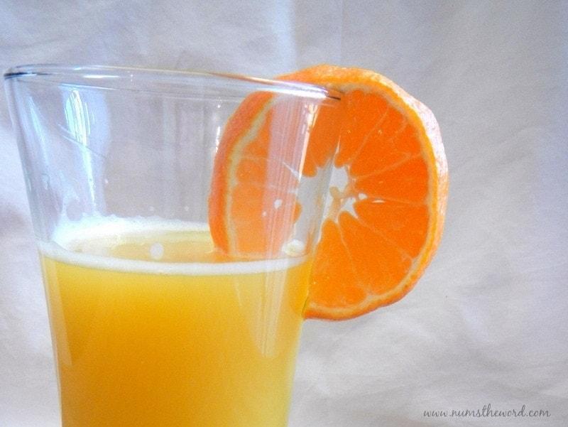 Refreshing Orange Cooler