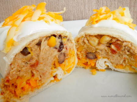 Crock Pot Chicken Tortilla Wraps