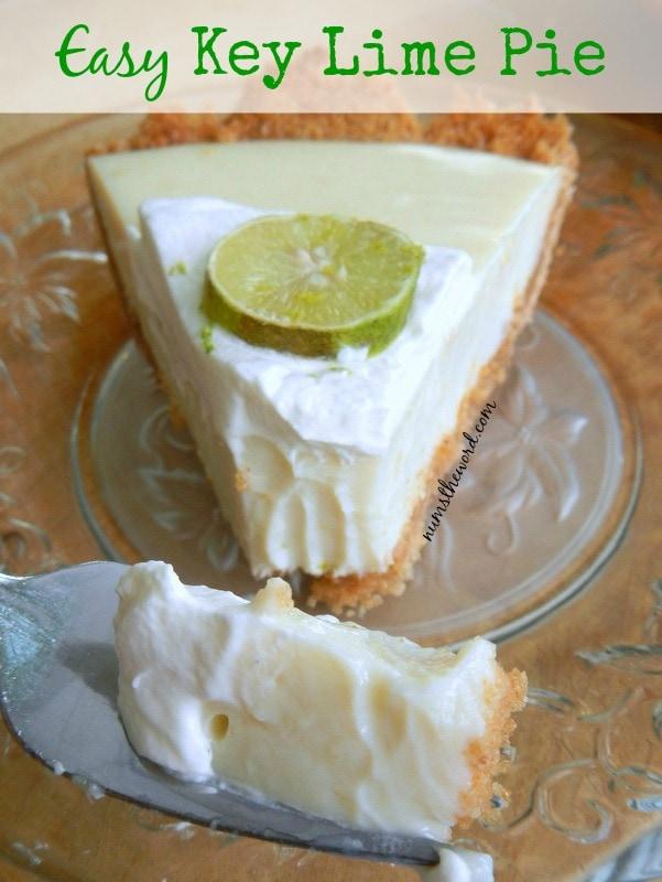 Easy Key Lime Pie - NumsTheWord