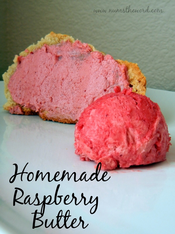 Homemade Raspberry Butter