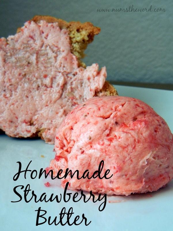 Homemade Strawberry Butter
