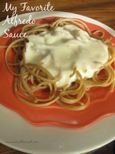Cream Cheese Alfredo Sauce