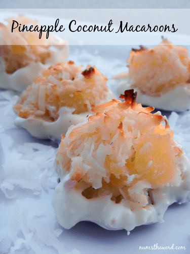dipped pineapple coconut pineapple coconut cookies pineapple coconut ...