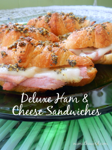 Deluxe Ham & Cheese Sandwiches