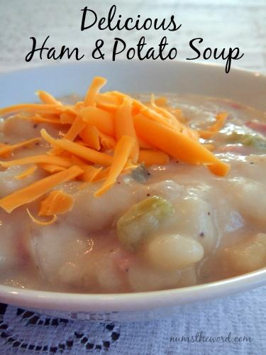 Delicious Ham & Potato Soup