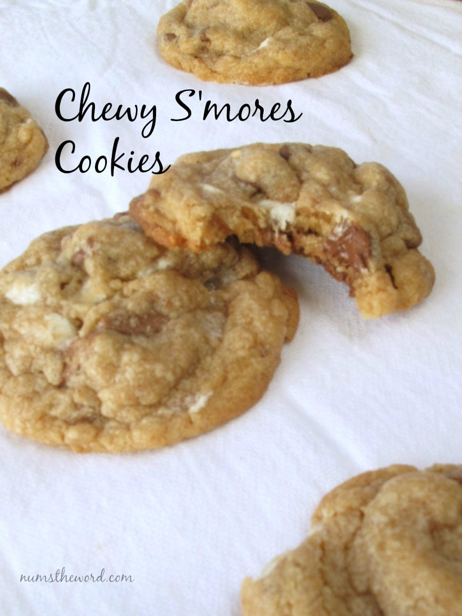 Chewy S'mores Cookies