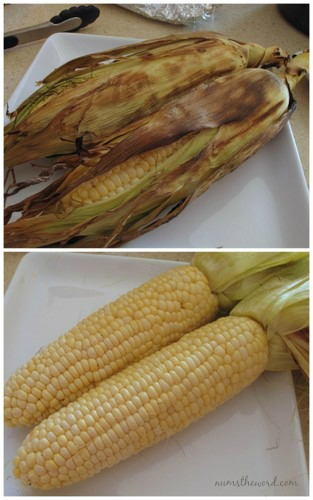 how to cook corn in water