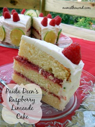 Raspberry Limemade Cake