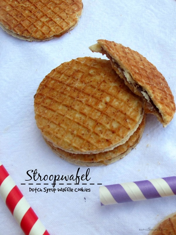 Stroopwafel Dutch Syrup Waffle Cookies Num S The Word