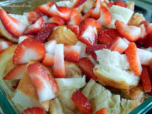 strawberries & cream croissant puff 3