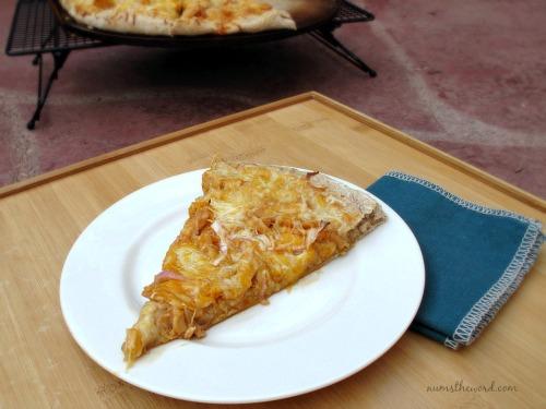 Winger's Creamy Amazing Chicken Pizza