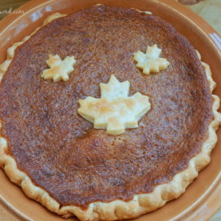 Canadian Maple Syrup Pie image