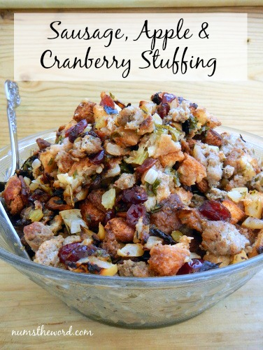 Sausage, Apple & Cranberry Stuffing