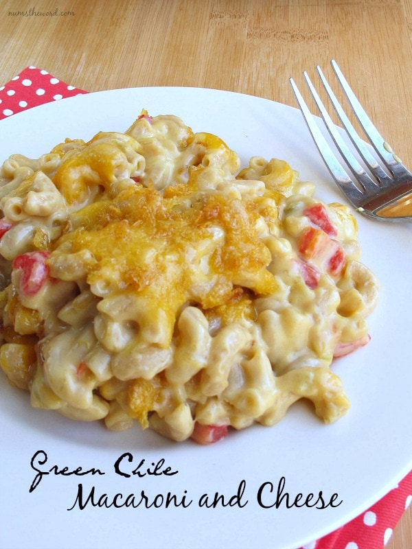 Green Chile Macaroni & Cheese