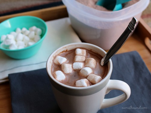 how to make hot cocoa with cocoa powder and water