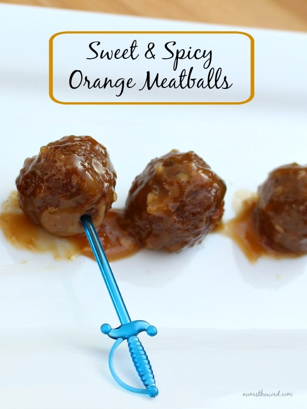 Sweet and Spicy Orange Meatballs