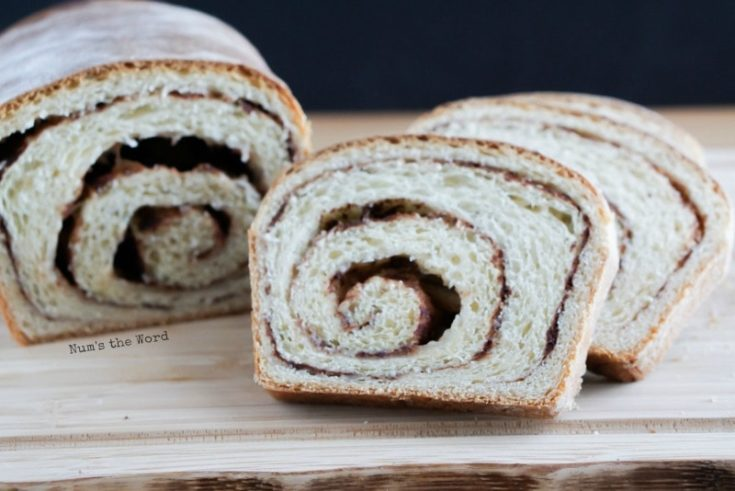 Cinnamon Roll Bread Num S The Word