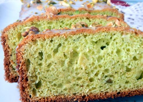 Green Pistachio Bread