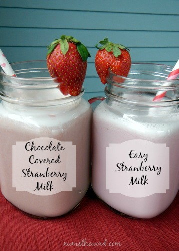 Easy Strawberry Milk