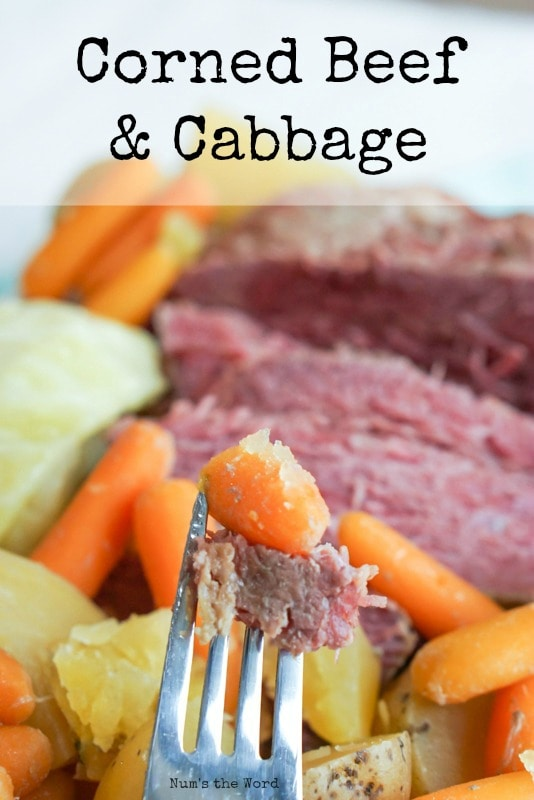 Corned Beef & Cabbage - Main image for recipe