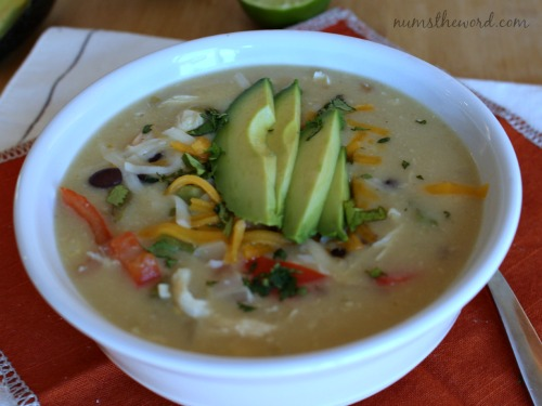 Chicken Fajita Soup