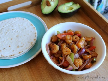 Chipotle Shrimp Fajitas