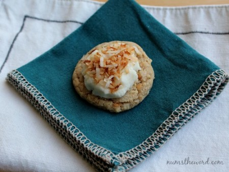 Coconut Cream Pie Cookies