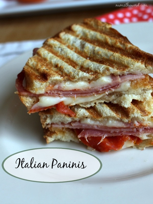smoked panini grill pressed italian party italian pork panini grilled ...
