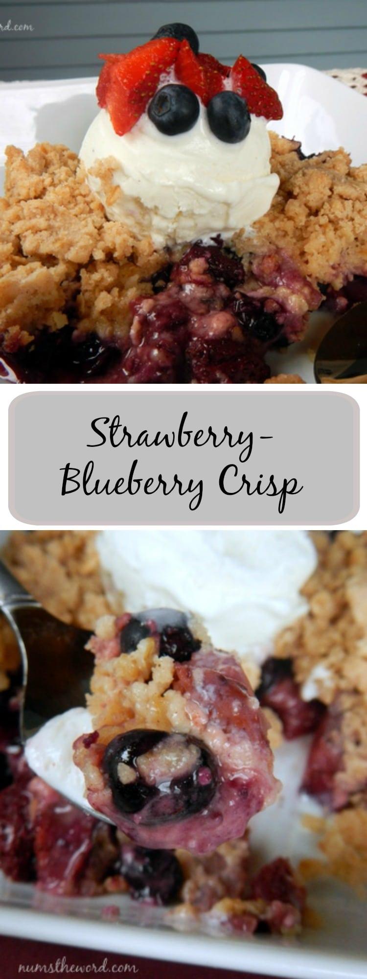 strawberry blueberry crisp numstheword On strawberry blueberry crisp recipe