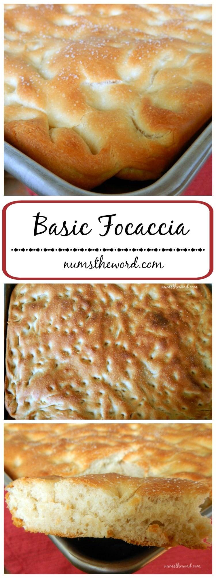 Basic Focaccia Bread LONG