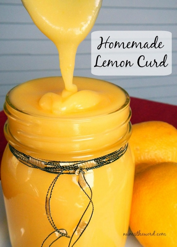 The Best Homemade Lemon Curd Recipe Num S The Word