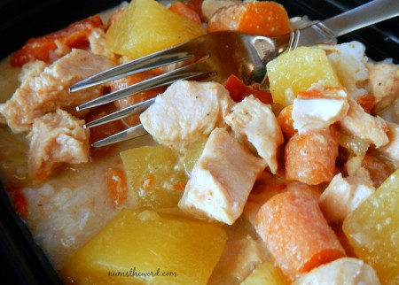 Crock Pot Yellow Coconut Chicken Curry