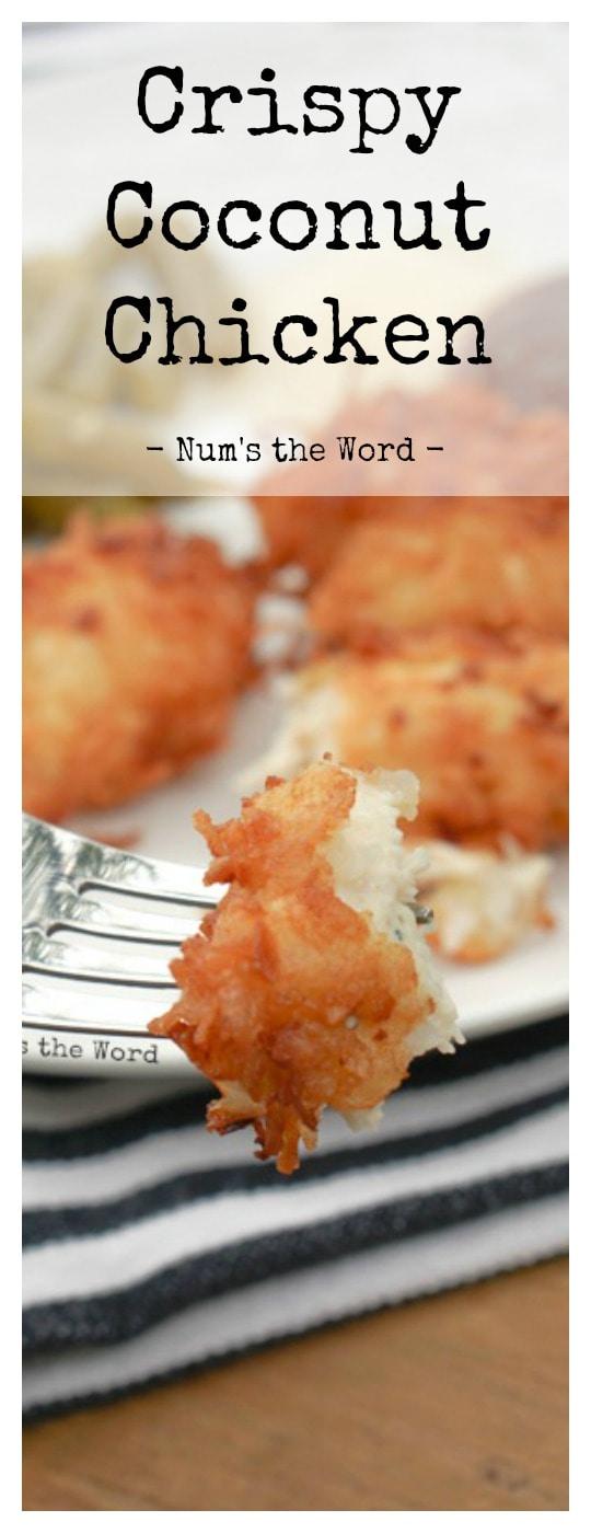 Crispy Coconut Chicken - Pinterest odd sized single image