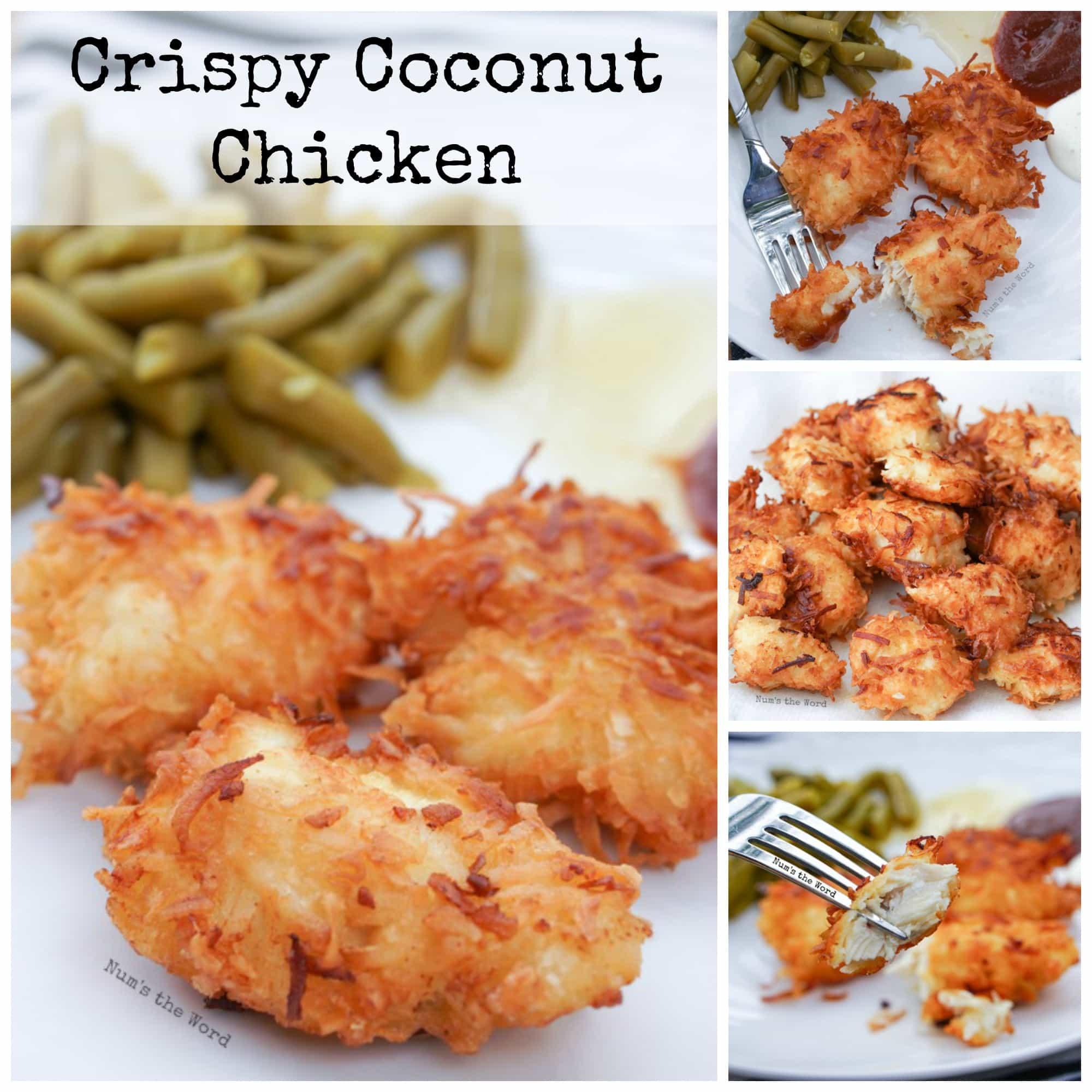 Coconut Chicken Nuggets: Crispy Coconut Chicken
