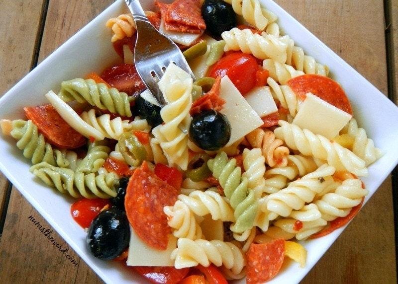 Deluxe Pasta Salad