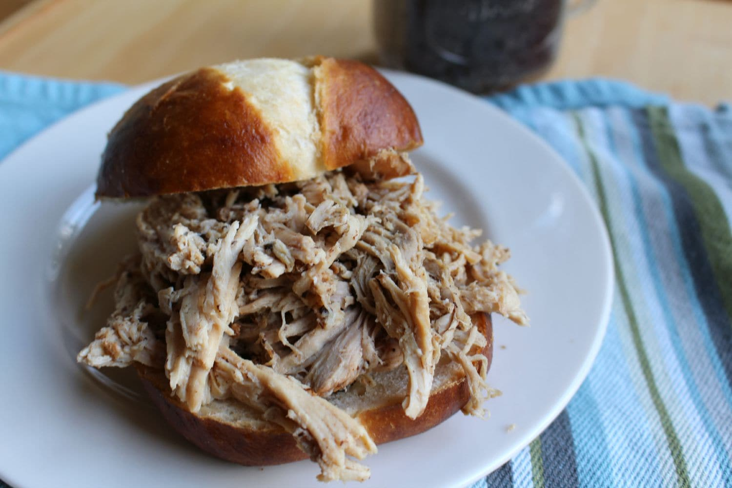 Crock Pot Root Beer Pulled Pork