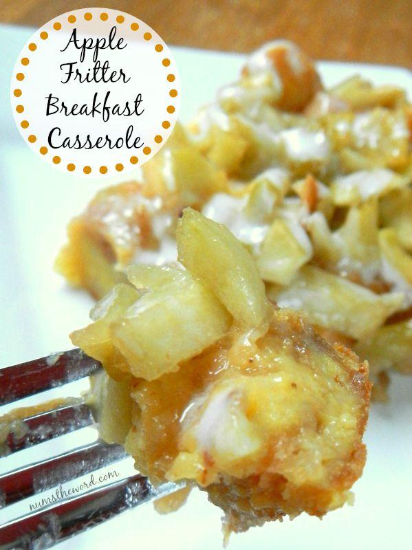 Apple Fritter Breakfast Casserole Recipe