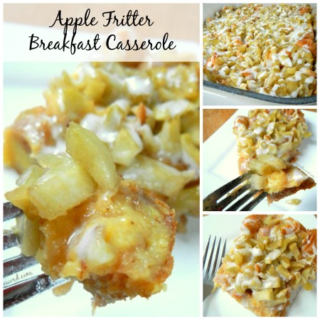 Apple Fritter Breakfast Casserole