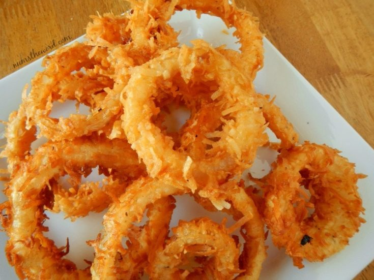 Crispy Coconut Onion Rings