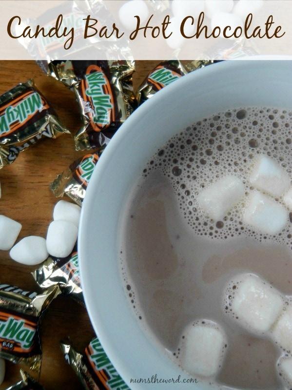 Candy Bar Hot Chocolate