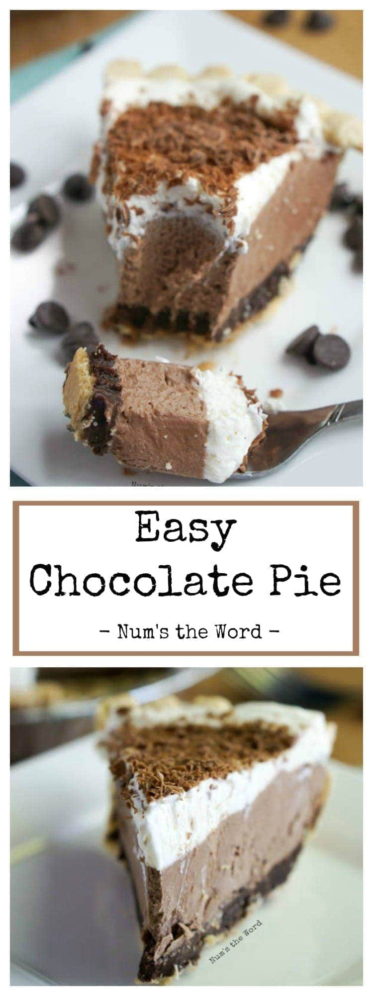 pics How to Bake an Impossible Chocolate Pie