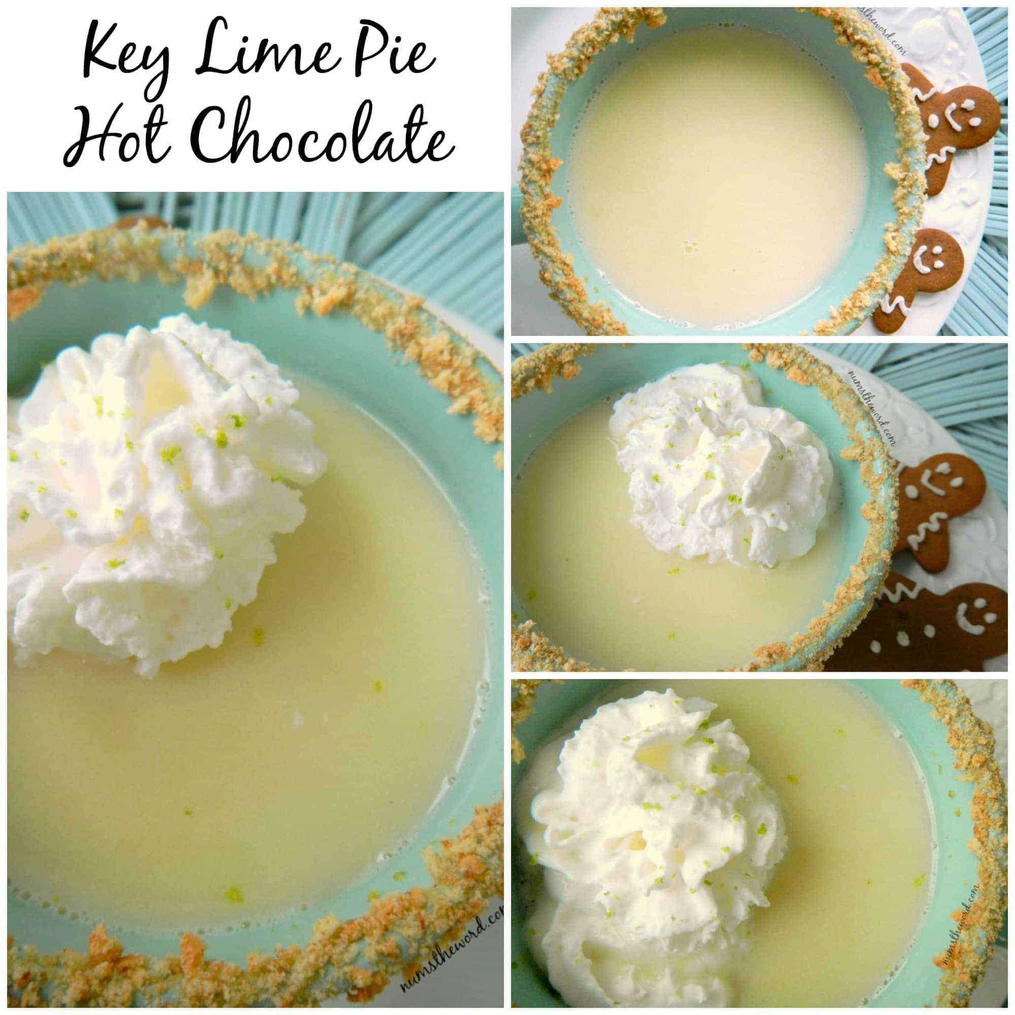 Key Lime Pie Hot Chocolate