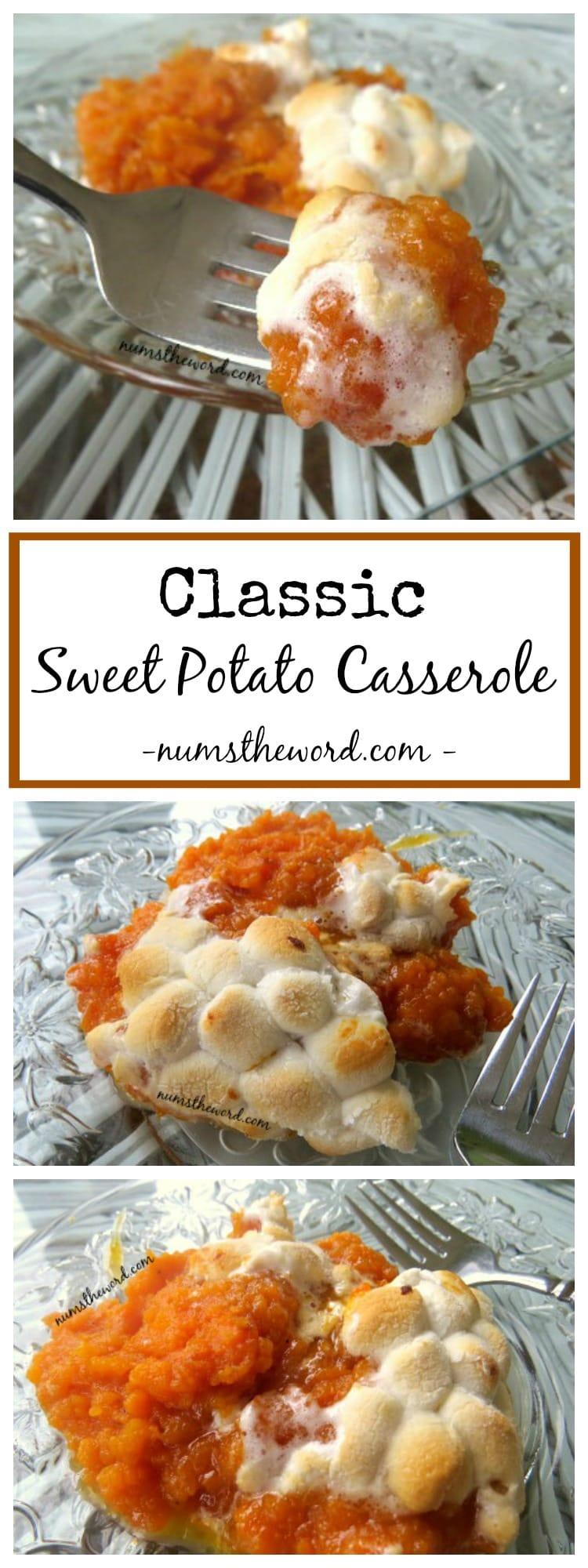 Classic Sweet Potato Casserole - NumsTheWord