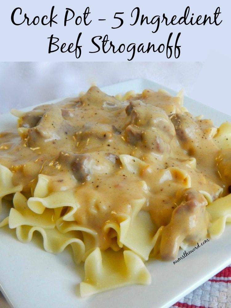 5 Ingredient Beef Stroganoff