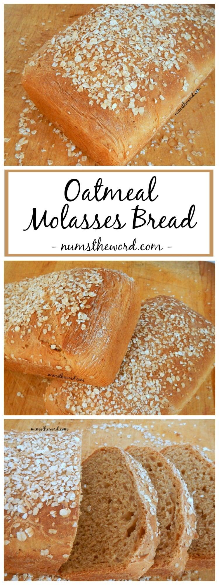 Oatmeal Molasses Bread