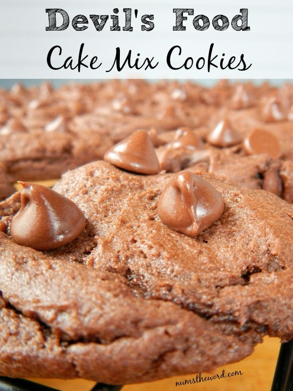 Devils Food Cake Mix Cookies Nums The Word