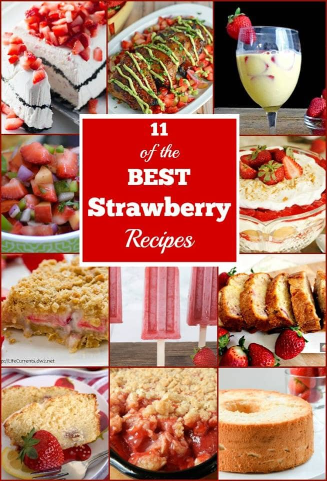 11 of the Best Strawberry Recipes