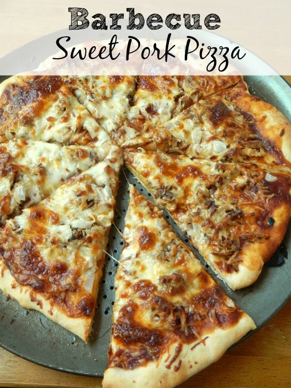 Barbecue Sweet Pork Pizza
