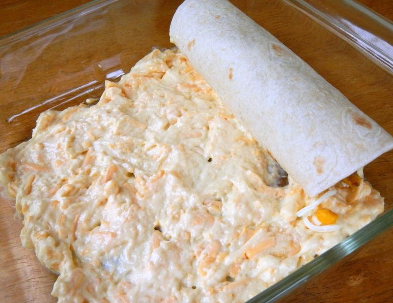 Black Beans & Rice Chicken Enchiladas