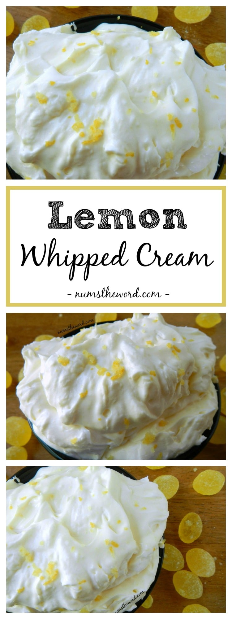 Lemon Whipped Cream